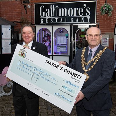 Gallimores Gin Night - Mayors Charity