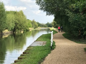 Bridgewater canal towpath