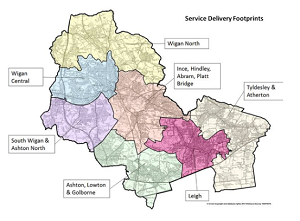 Service delivery footprints