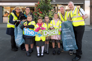 Shevington in Bloom with Deal in Action