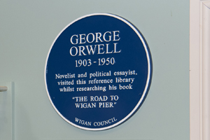 George Orwell blue plaque