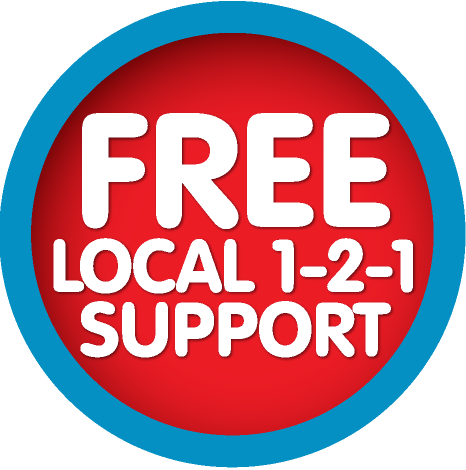 Free local 1-2-1 support